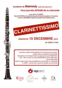 1ère journée de la Clarinette à Malmedy